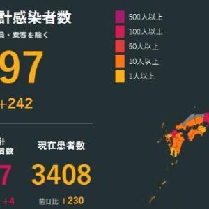 武漢肺炎 4月6日感染状況。