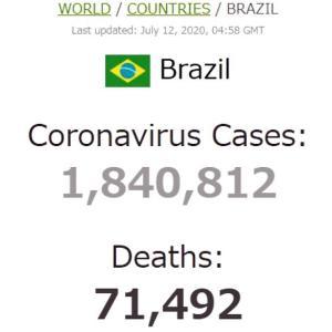 ブラジル大統領府陥落
