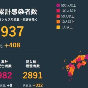 武漢肺炎 7月12日の状況