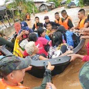 タイ洪水@ルーイとナーン