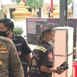 タイの入管は警察官