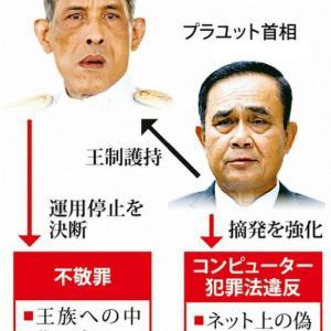 タイ、不敬罪をまたやるらしい。