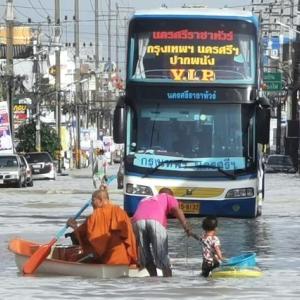 タイ南部洪水拡大