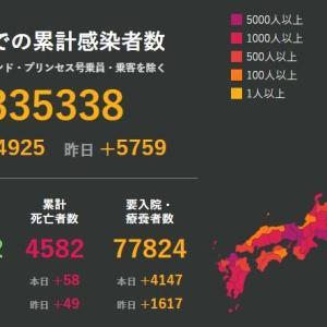 武漢肺炎1月18日の状況