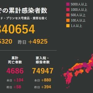 武漢肺炎1月19日の状況