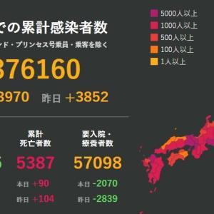 武漢肺炎1月27日の状況