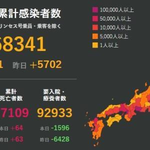 武漢肺炎9月17日の状況