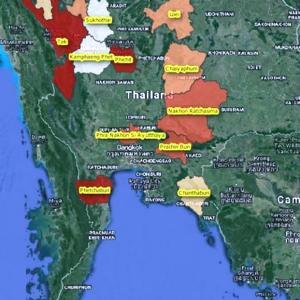 タイは今、洪水の季節