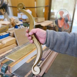 オーダー木製小物 ステージで使う小道具 バレエで躍る時に手に持つ弓