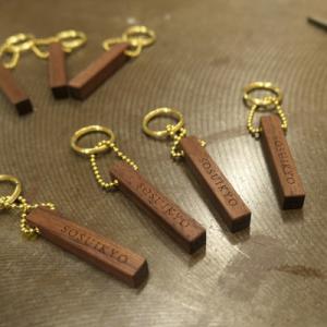 オーダー木製小物 小さなキーホルダー