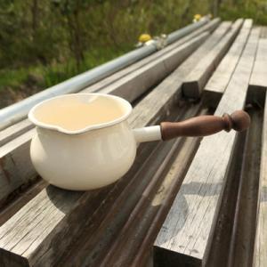 オーダー木製小物 ミルクパンの木の柄・取手