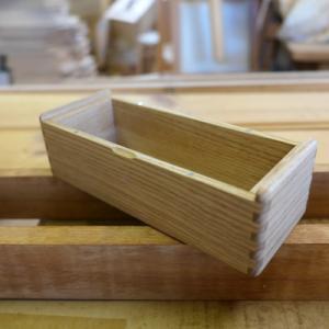 オーダー木製小物 あられ組の小箱