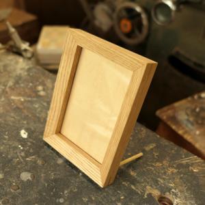オーダー木製小物 写真立て(フォトフレーム)