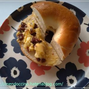 レーズンバター(ベーグル)サンド