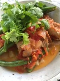 ベトナム風厚揚げの煮物