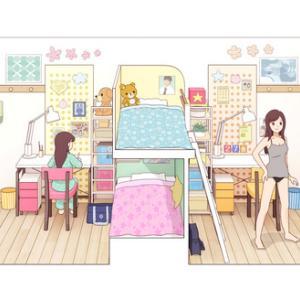 姉妹の部屋 その1