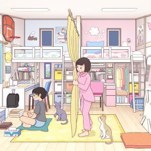 子供部屋の姉弟~改
