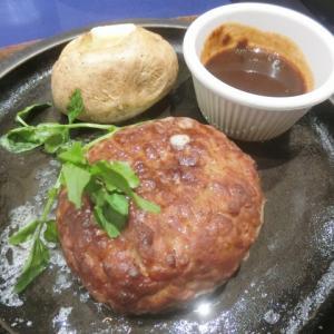 不二家レストラン 成田国際空港店 | チーズソースハンバーグステーキ シーザーサラダ 【不二家】