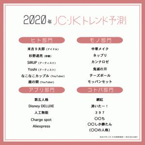 流行語 2019 まとめ / JC・JK流行語
