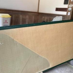 湯村の吉田製畳さんにお世話になって畳替え。畳の魅力を再確認!