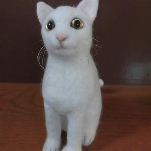 猫ちゃん(フェルト)