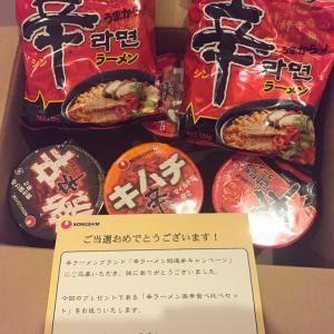 10/17 辛ラーメン激辛食べ比べセット