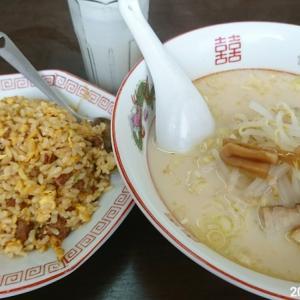 中国台湾料理 楽燦館 豚骨ラーメンセット 680円