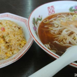 中国台湾料理 楽燦館 醤油ラーメンセット 680円