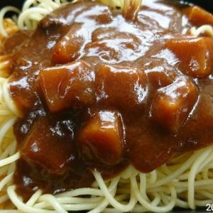お弁当 カレースパゲティ