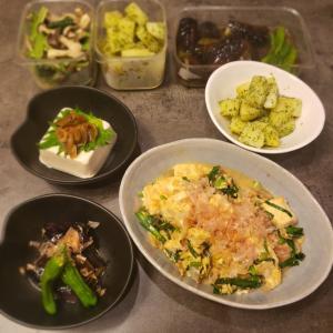 今日の晩ごはん。【豆腐チャンプル】