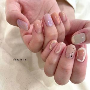 【神戸マルイ店】asymmetry nail