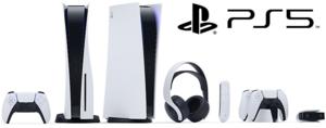 【PlayStation 5】 本体や周辺機器のイメージ公開