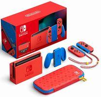 【Nintendo Switch】 特別デザイン「マリオレッド×ブルー セット」 発表