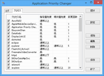【Application Priority Changer】 Ver.6.1.1.0 リリースしました