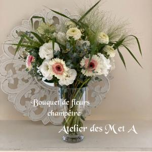 パリのお花☆シャンペトルブーケ