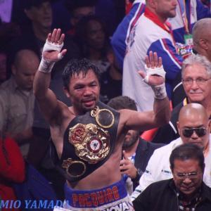 マニー・パッキャオvsダニーorマイキー・ガルシア 「WBA世界ウェルター級戦」