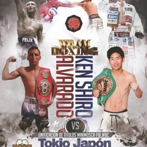 12/23 拳四朗vsアルバラード 「中止!」 WBC&IBF世界ライトフライ級王座統一戦
