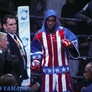 【Photo】 ジャモール・チャーロvsデニス・ホーガン WBC世界ミドル級戦