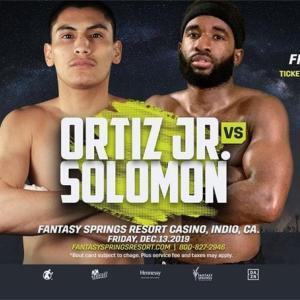 オルティスJR vs ソロモン 「結果」 WBAウェルター級ゴールド王座戦