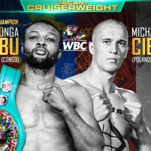 1/31・キンシャサ 「ドン・キング」 マカブvsチェスラック WBC世界クルーザー級王座決定戦