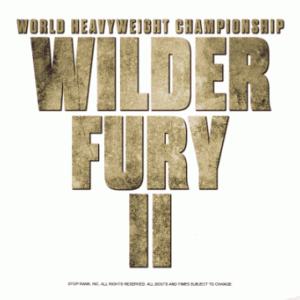ワイルダーvsフューリーⅡ 「ファイトマネー!」 WBC世界ヘビー級戦
