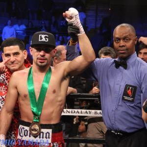 WBC世界ウェルター級 「指名挑戦者・ダニー・ガルシア」