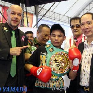 54戦無敗・WBC世界ミニマム級王者ワンヘン 「引退撤回!」