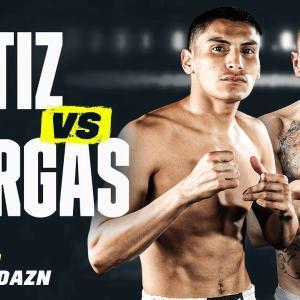 オルティスJr vs バルガス 「結果」 WBA世界ウェルター級ゴールド王座戦