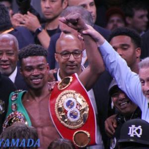 エロール・スペンスJr vs ダニー・ガルシア 「対戦同意!」 WBC&IBF世界ウェルター級戦