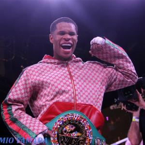 デビン・ハニーvsユリオルキス・ガンボア 「WBC世界ライト級戦」