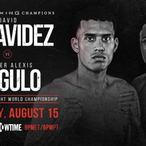 デビッド・べナビデス 「計量失格・王座剥奪!」 WBC世界スーパーミドル級