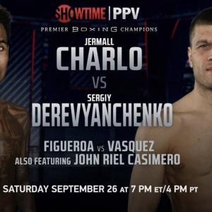 ジャモール・チャーロvsセルゲイ・デレイビャンチェンコ 「結果」 WBC世界ミドル級戦