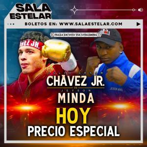 フリオ・セサール・チャベスJr 「再起戦結果」 vsミンダ ライトヘビー級10回戦