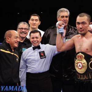 WBA指令 「正規王者シュメノフvs1位メルウィー」 世界クルーザー級